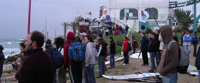תחרות גלישה בחוף מועדון הגולשים - pwa-2006 (צילום - ירון כרמי)