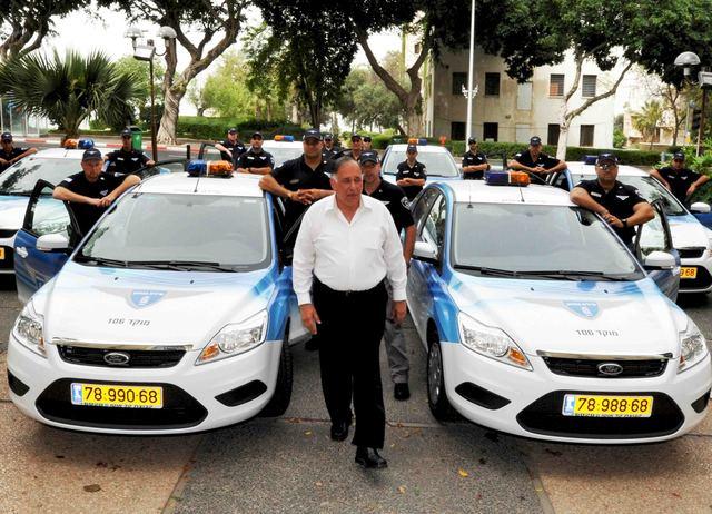 סיירת בטחון עירונית בחיפה עם יונה יהב