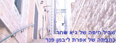 שביל חיפה של גיא שחר (כתבתה של אפרת ליבמן-פנר)