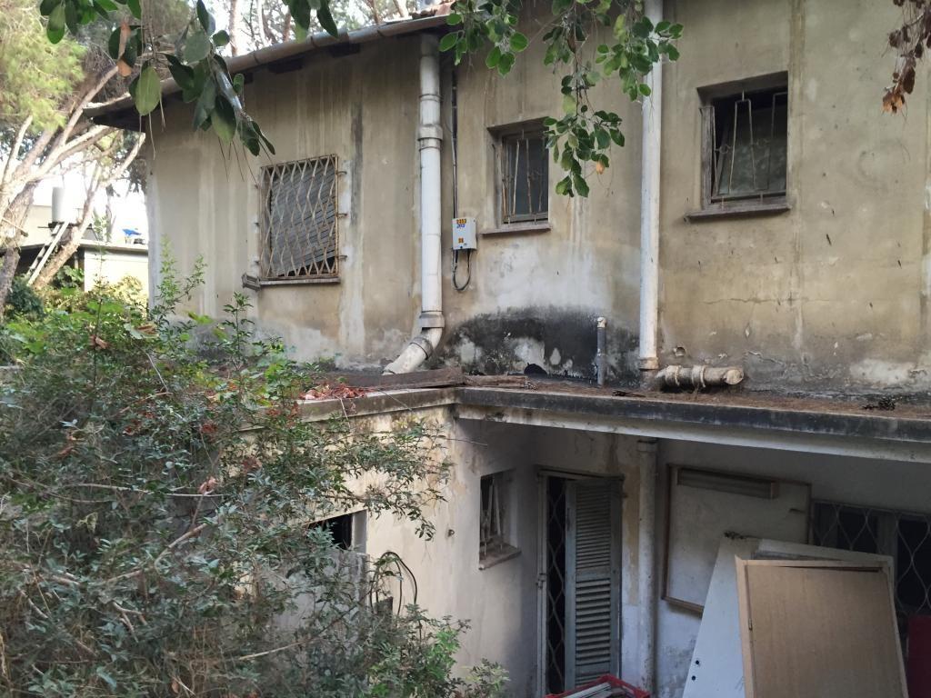 דירת רפאים ברחוב חורב בחיפה (צילום: ירון כרמי)