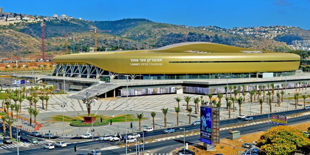 אצטדיון הכדורגל על שם סמי עופר בחיפה (צילום: החברה הכלכלית לחיפה)
