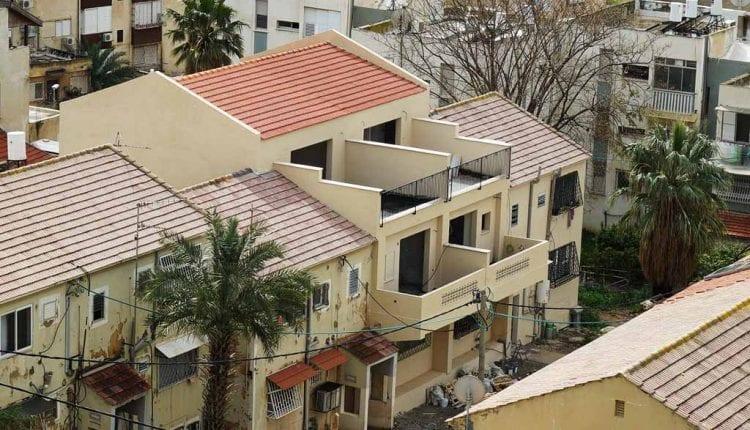 בית בהתחדשות עירונית בנווה דוד – מבט מרמת הנשיא (צילום: ירון כרמי)