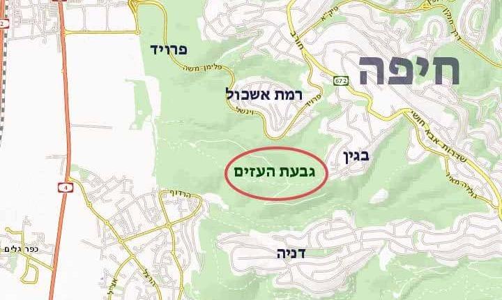 מפה_-_גבעת_העזים