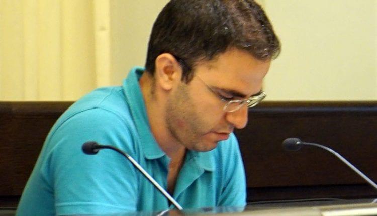 בועז גור – חבר מועצת העיר חיפה (צילום: ירון כרמי)