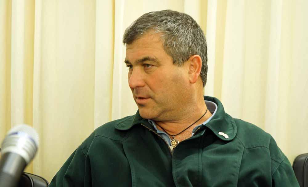 """שלמה כ""""ץ - מנהל המחוז במשרד להגנת הסביבה (צילום: ירון כרמי)"""