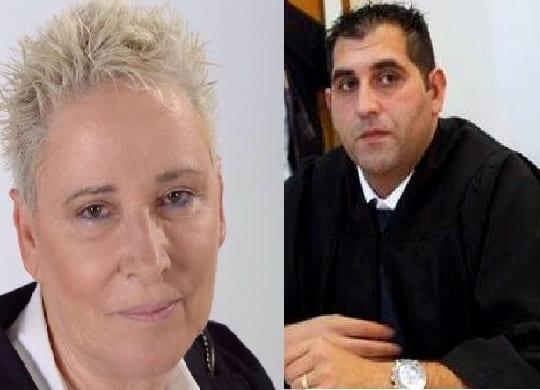 עורכי הדין תמי אולמן ושאדי סרוג'י