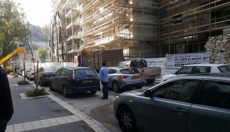 בנייה ברחוב חביבה רייך