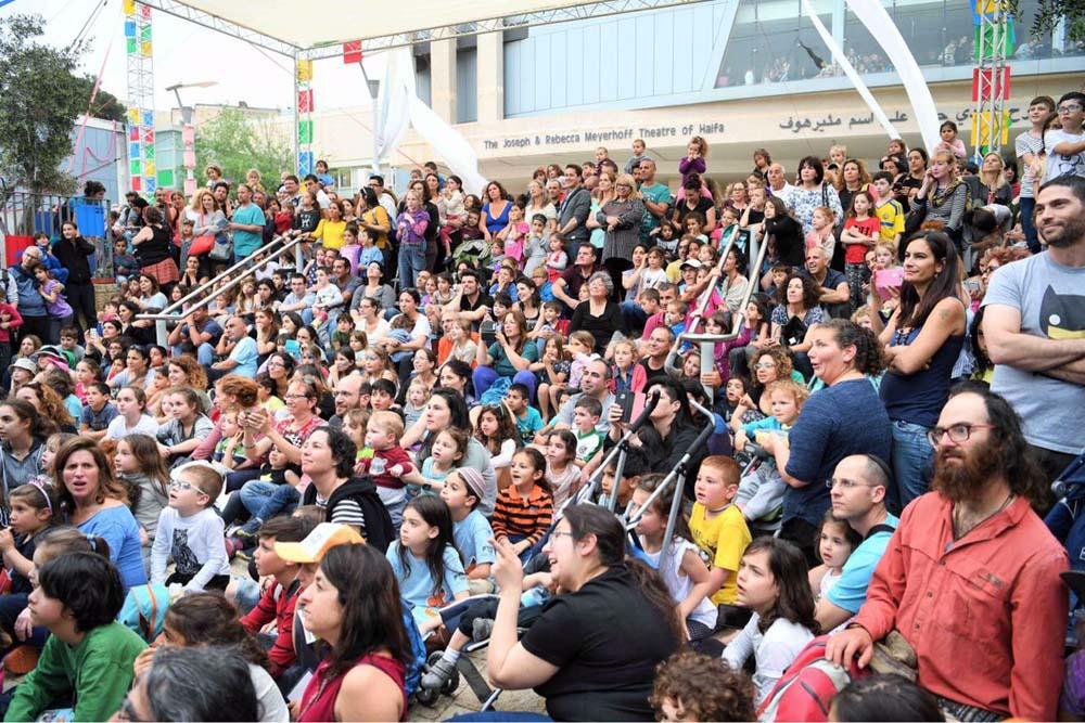 פסטיבל חיפה להצגות ילדים (צילום: ראובן כהן, עיריית חיפה)