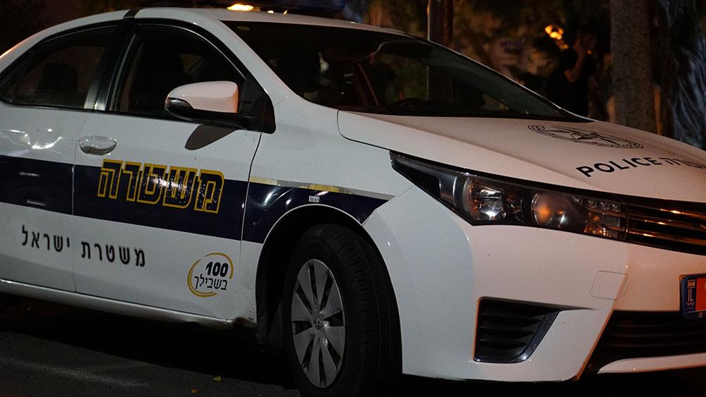 ניידת משטרה. צילום - ירון כרמי