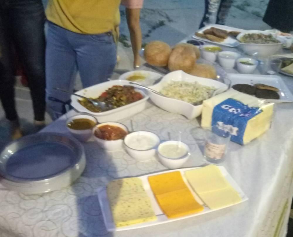 ארוחת גבינות (צילום: סמר עודה)