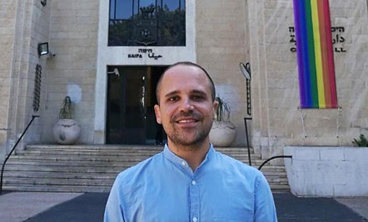 יוסי שלום - חבר מועצת העיר חיפה (צילום - מיכל ירון)