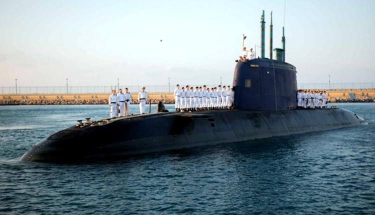 """צוללת של חיל הים (צילום: דובר צה""""ל)"""