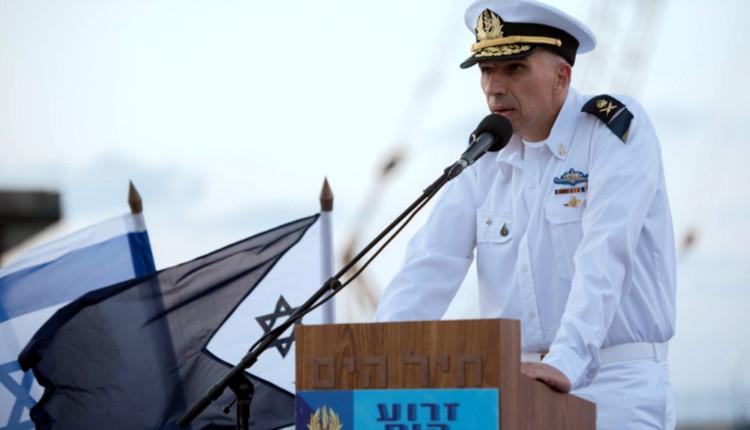 """מפקד זרוע הים, אלוף אלי שרביט (צילום: דובר צה""""ל)"""