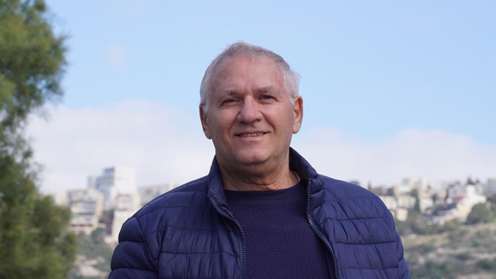 """יו""""ר סיעת הירוקים אביהו האן (צילום: ירון כרמי)"""