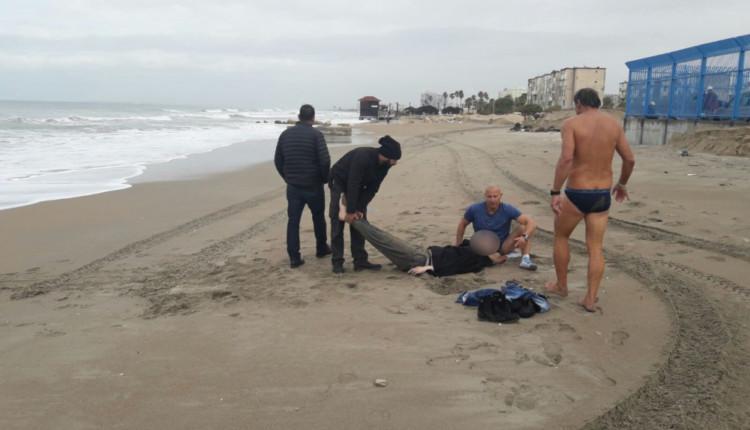 צעיר נמשה מהמים במצב קשה בחוף קריית חיים