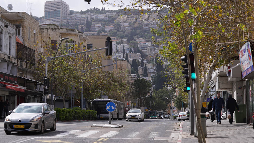 רחוב הנביאים - הדר הכרמל (צילום: ירון כרמי)