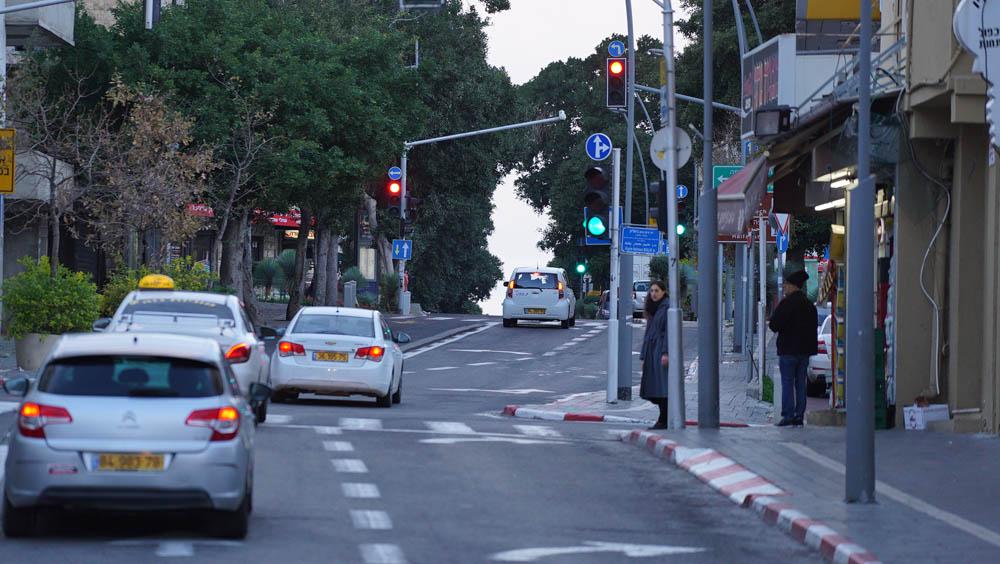 רחוב הרצל - הדר הכרמל (צילום: ירון כרמי)