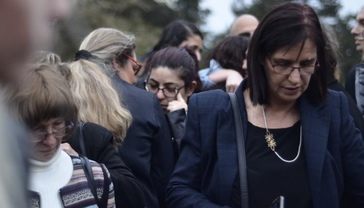 בהלוויה של אשר עלמני – צילום – חגית אברהם 11.02.2018
