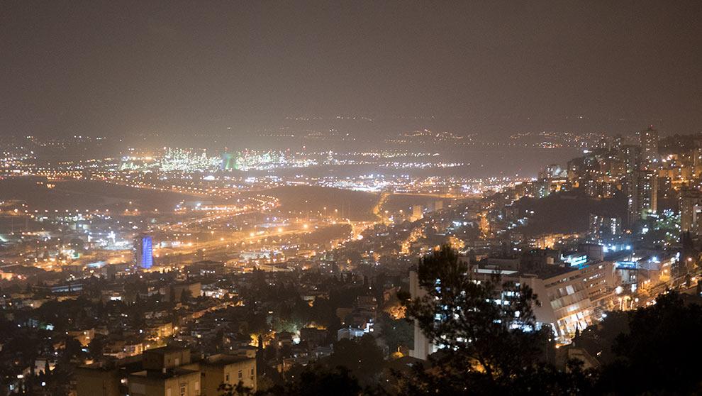 זיהום אוויר (צילום: קרן צור)
