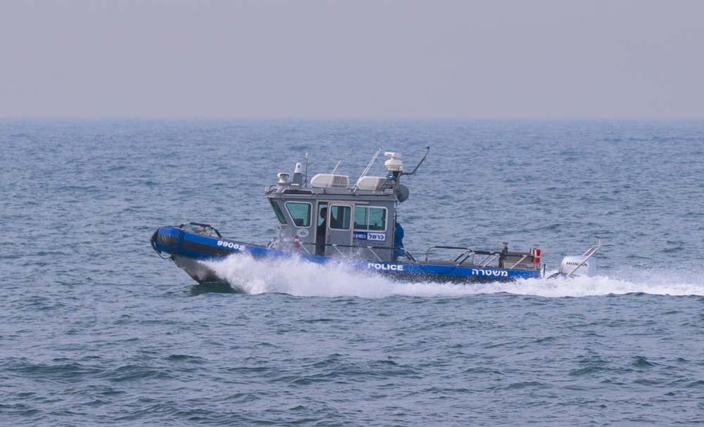 ספינת הצרעה של השיטור הימי בחיפה (צילום - ירון כרמי)