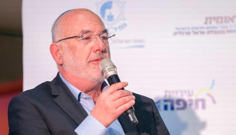 גואידו פארדו – כנס יוזמה לאומית עם אראל מרגלית – חיפה (צילום – ירון כרמי)