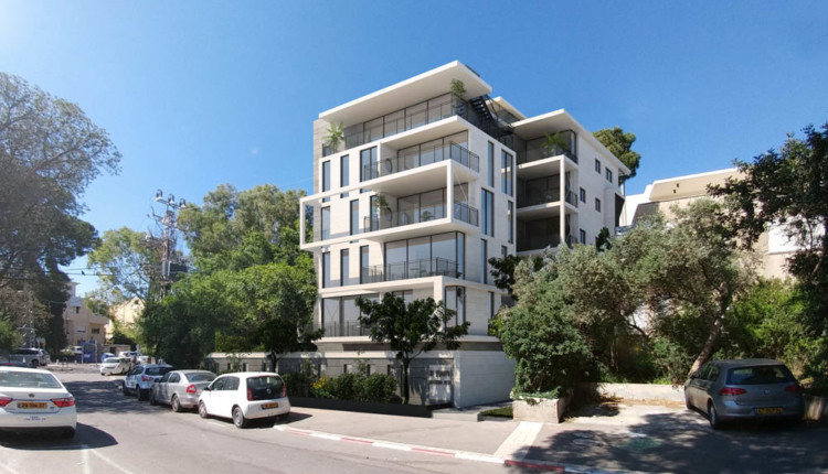 דירה חדשה בחיפה: ויתקין 11 – בית תאודור מנקס – פרויקט בוטיק חיפאי
