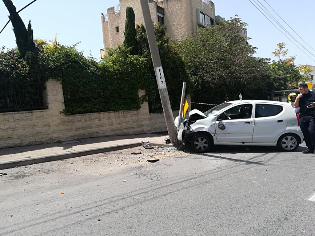 תאונה ברחוב טשרניחובסקי בכיכר