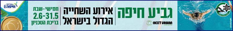 עיריית חיפה – גביע חיפה בשחייה – רחב