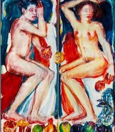 ציור של דויד באומן