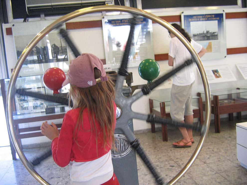 המוזיאון הימי הלאומי - חיפה (צילום: ירון כרמי)