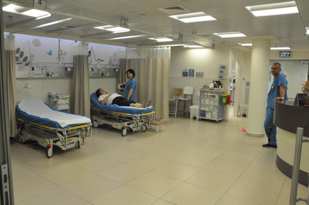 כללית - מיון קהילתי במרכז הרפואי לין (צילום -צבי מינקוביץ)
