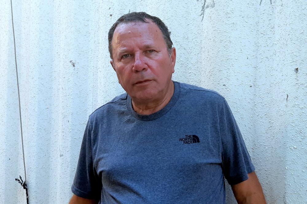 אריה ברזילי, מנהל קבוצת וותיקי מכבי חיפה בשנים האחרונות. (צילום: אדיר יזירף)
