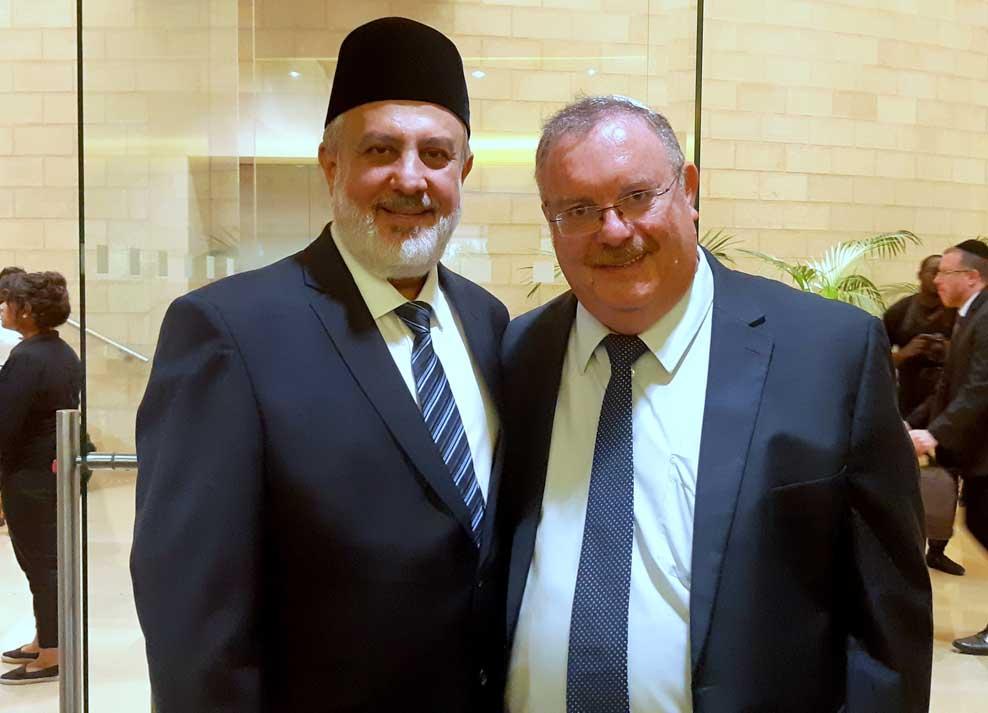 ערב שירה בין-דתי במרכז הבהאים העולמי בחיפה 28/6/2018 (צילום - אדיר יזירף)