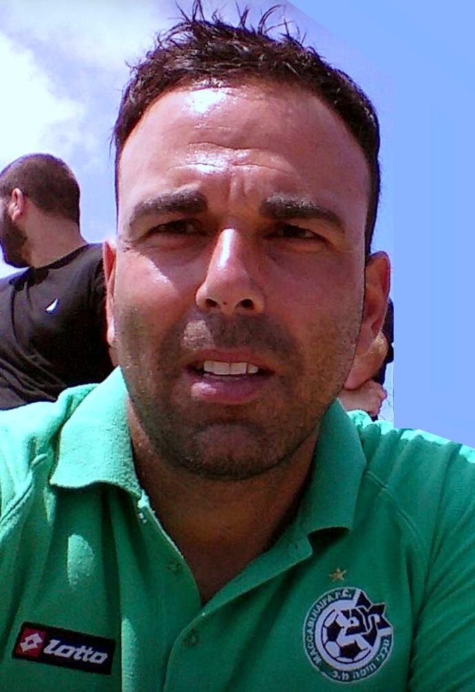"""אבי צרפתי, הבעלים ומנכ״ל של """"עושים ספורט"""" ואוהד את קבוצת מכבי חיפה. (צילום: אדיר יזירף)"""