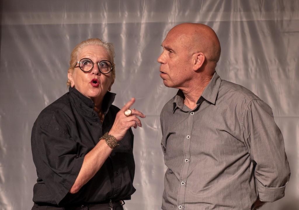 """ההצגה """"אהובת הדרקון"""" בתאטרון הסטודיו - אוגוסט 2018 (צילום - ירון כרמי)"""