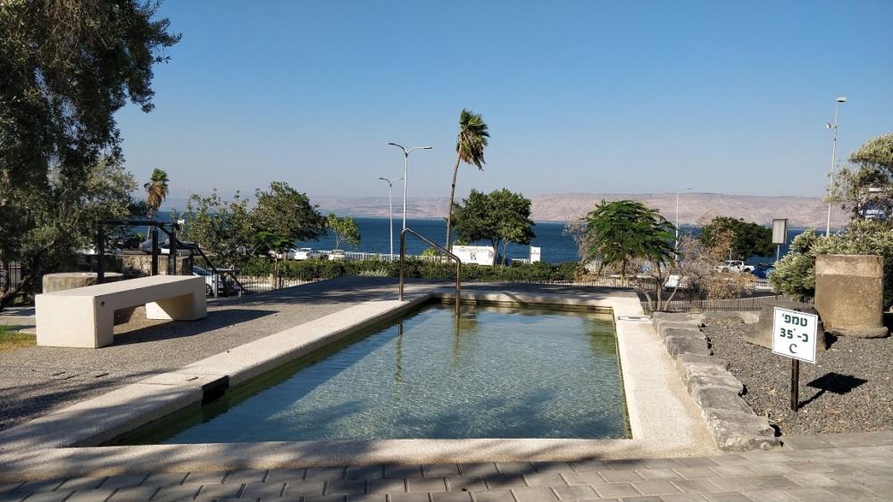 גן לאומי חמת טבריה העתיקה זיו לוי