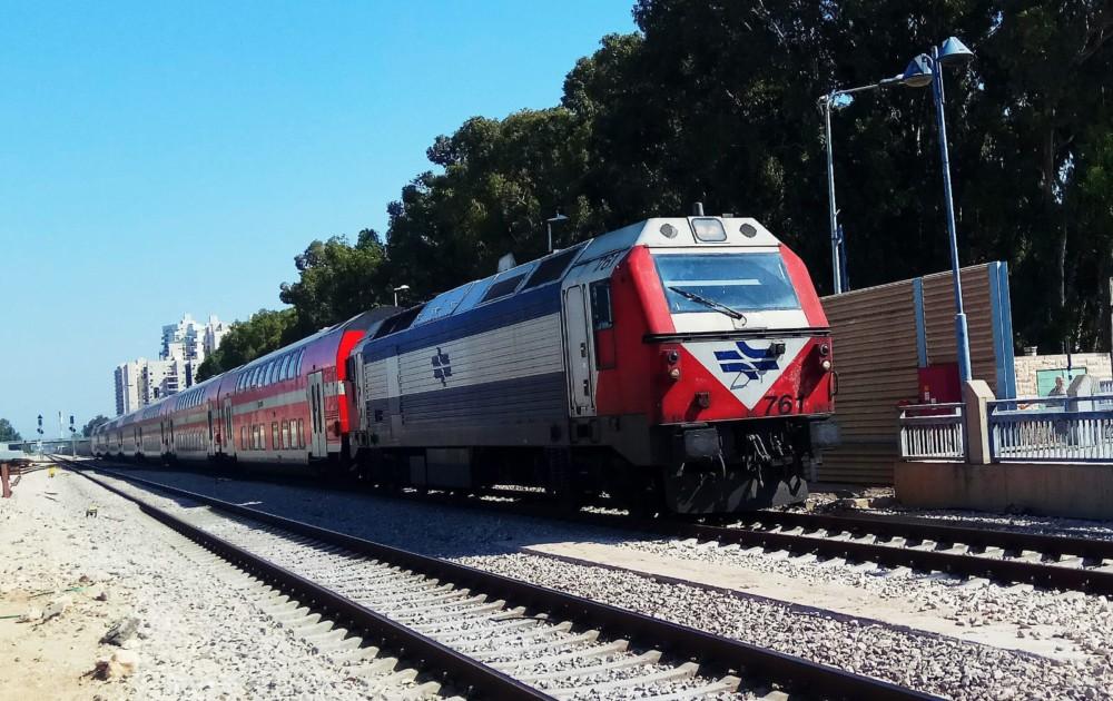 רכבת ישראל התמונה להמחשה (צילום: חגית אברהם)