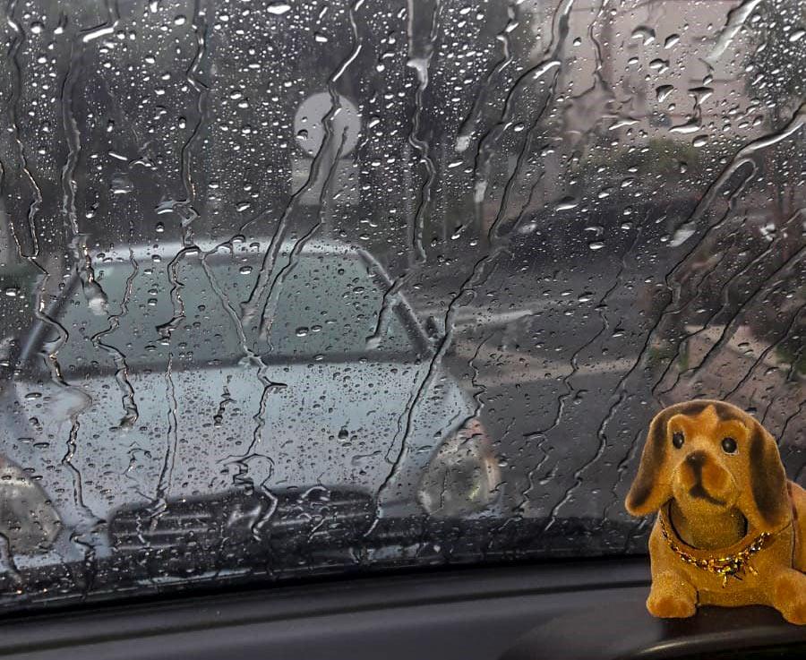 קוראי חי פה מצלמים את היורה בחיפה - מטחי גשם, הצפות וברקים - 21/10/2018 (צילום: עדינה אברמוביץ')