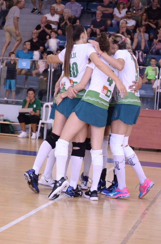 מכבי XT חיפה חוגגת ניצחון מרשים במחזור הפתיחה (צילום: חגית אברהם)