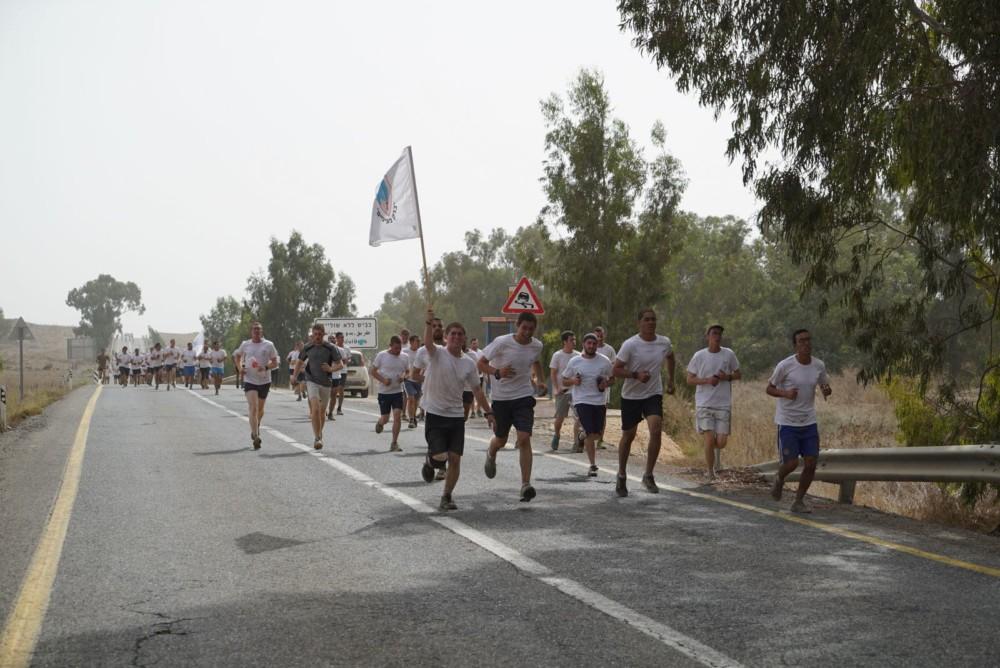 """חטיבת 188 במסע 188 (צילום דובר צה""""ל)"""