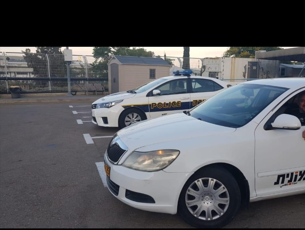 מונית (צילום משטרת ישראל)