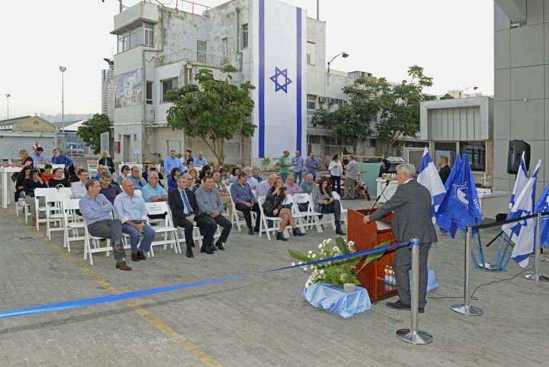 טקס חנוכת רציף הקרוזים בנמל חיפה (צילום: ורהפטיג ונציאן)