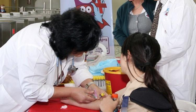 בדיקות יום האיידס הבינלאומי צילום: פיוטר פליטר