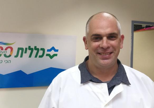 """אורי אתרוג מנהל שירות הפיזיותרפיה בכללית מחוז חיפה וג""""מ"""