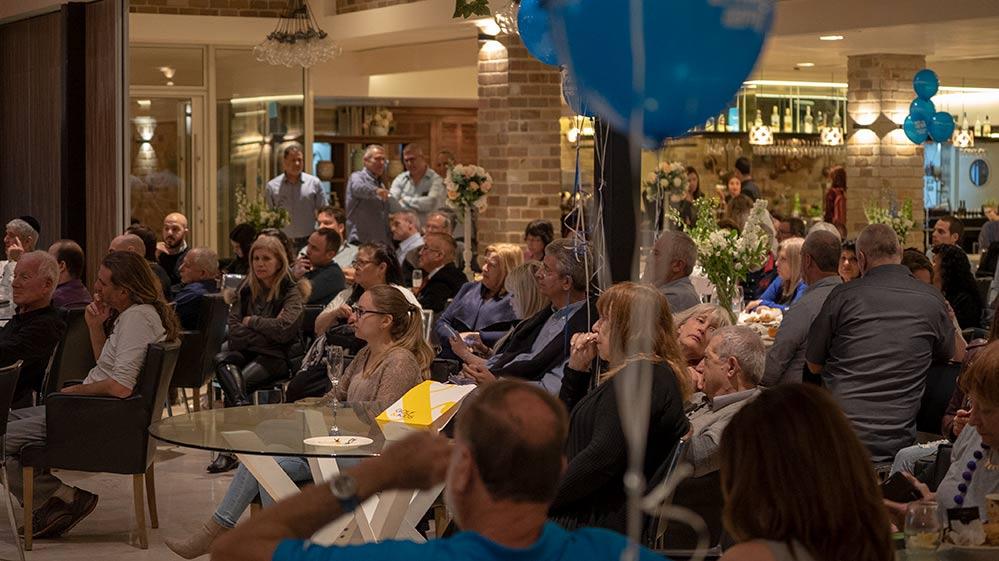 כנס של דוד עציוני בפתיחת הקמפיין - מרכז הקונגרסים בחיפה - 18/3/2018 (צילום: ירון כרמי)