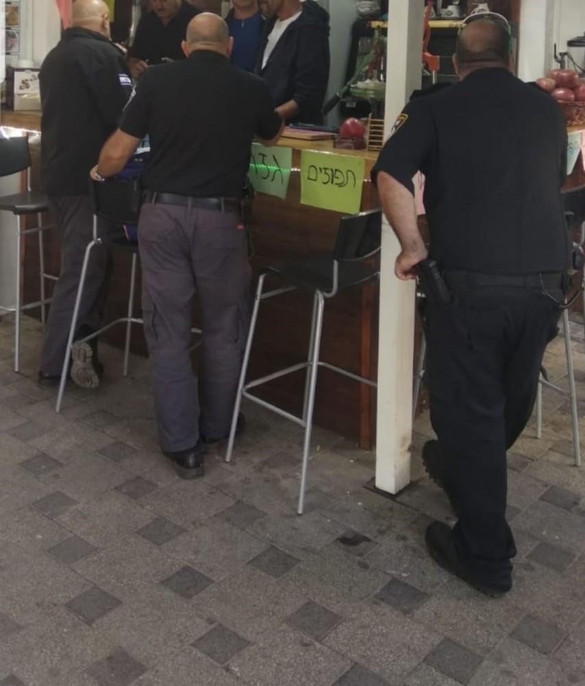 בתי עסק בחיפה (צילום המשטרה)