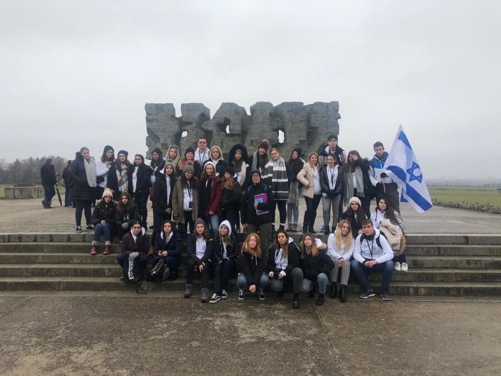 מסע פולין - בית הספר ליאו באק בחיפה - נובמבר 2018 (צילום: שי כרמי)