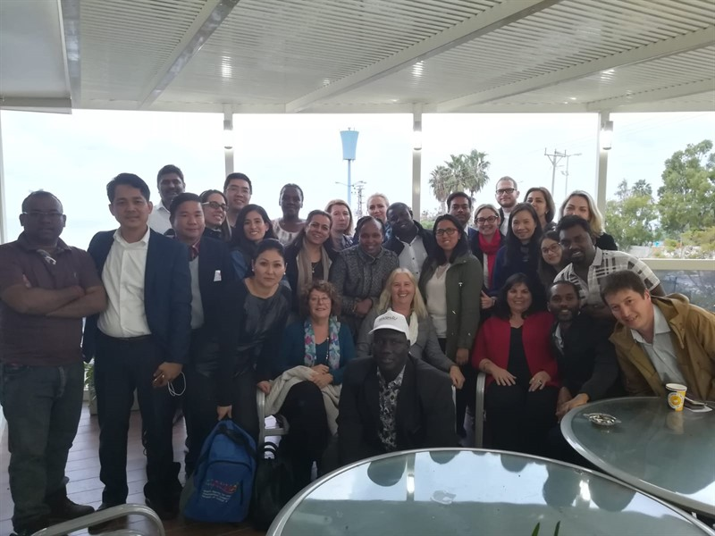 משלחת ממשרד החוץ באקדמית גורדון חיפה (צילום דמיאן פלוט)