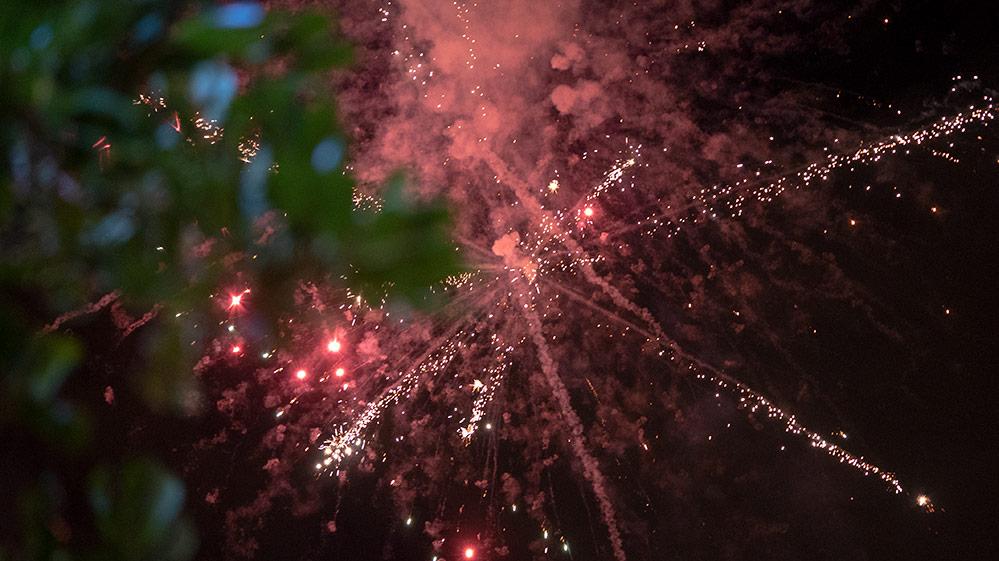 מופע זיקוקים - החג של החגים - 22/12/2018 (צילום: ירון כרמי)