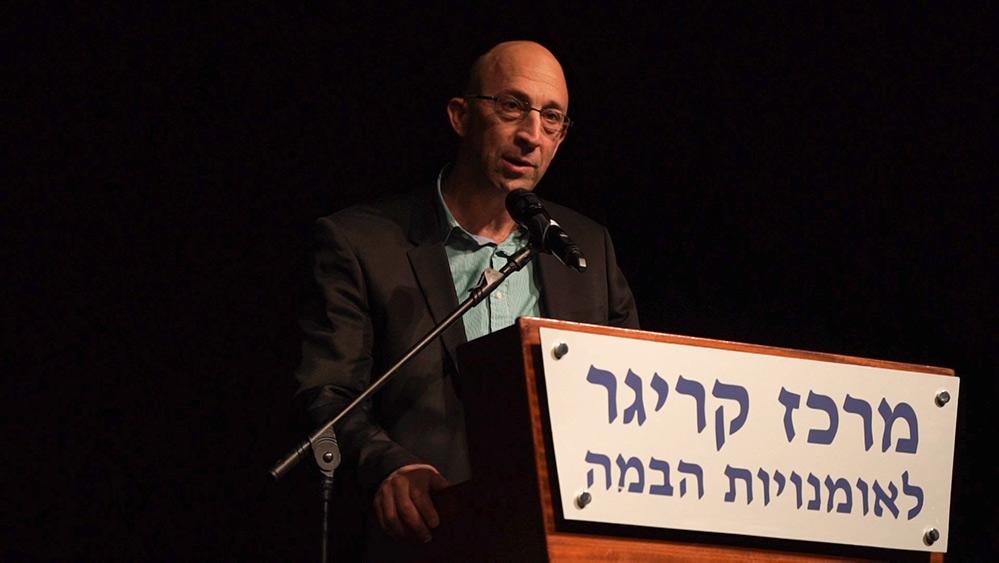 """ניר ענבי - יו""""ר מכבי חיפה כרמל (צילום: ירון כרמי)"""